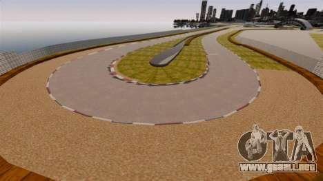 Tsukuba Circuit v3.0 para GTA 4 sexto de pantalla