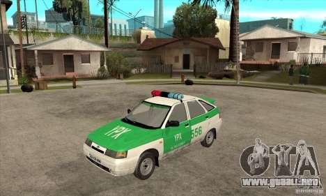 Policía YPX VAZ-2112 para GTA San Andreas