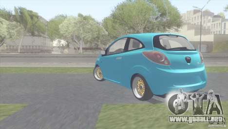 Ford Ka Stance Perry Edtion para la visión correcta GTA San Andreas