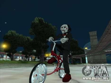 Saw para GTA San Andreas sucesivamente de pantalla