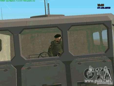 RF Marine para GTA San Andreas sexta pantalla