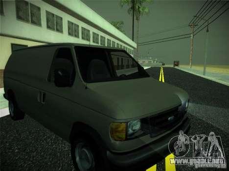 Ford E150 2000 para GTA San Andreas left
