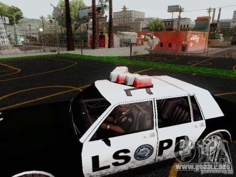 Greenwood Police LS para la visión correcta GTA San Andreas