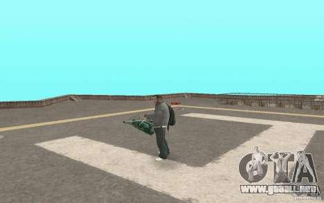 Animación del GTA IV para GTA San Andreas sucesivamente de pantalla