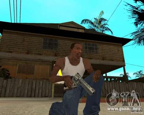 Magnum 22.2 para GTA San Andreas segunda pantalla