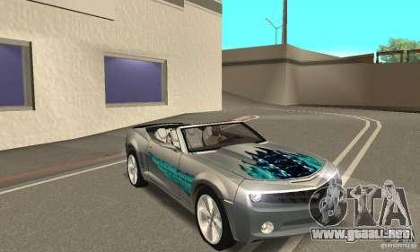 Chevrolet Camaro Concept 2007 para el motor de GTA San Andreas