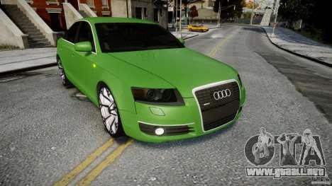 Audi A6 TDI 3.0 para GTA 4 vista lateral