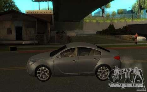 Opel Insignia 2011 para GTA San Andreas left