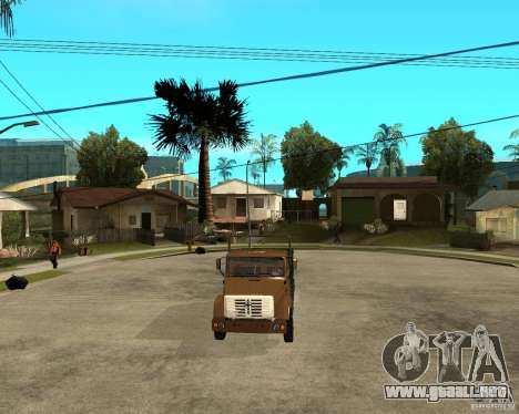 ZIL-433362 Extra Pack 1 para la vista superior GTA San Andreas