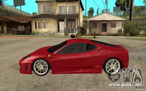 Ferrari F430 Scuderia para GTA San Andreas left