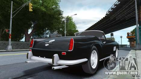 Ferrari 250 California 1957 para GTA 4 left