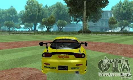 Mazda Rx7 para GTA San Andreas left