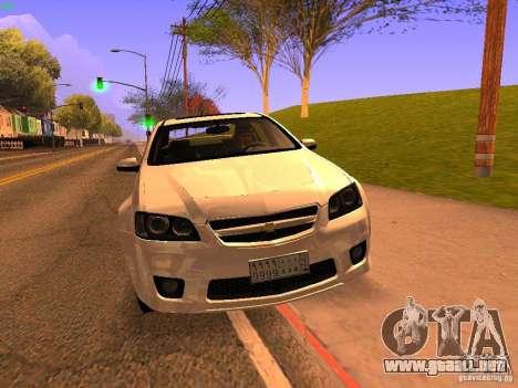 Chevrolet Lumina para visión interna GTA San Andreas