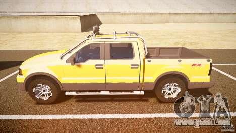 Ford F150 FX4 OffRoad v1.0 para GTA 4 left
