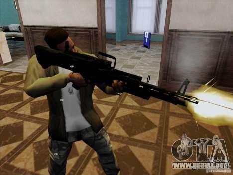 M60E4 para GTA San Andreas segunda pantalla