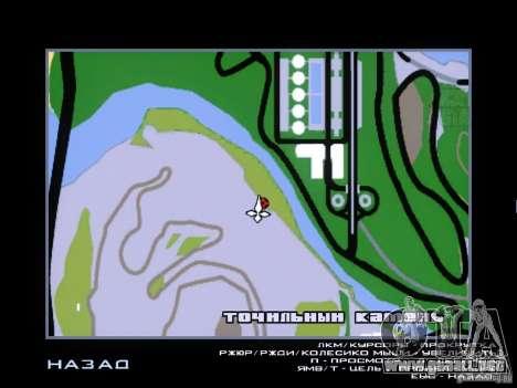 Piggsy on Mount Chilliad para GTA San Andreas quinta pantalla