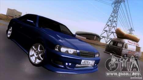 Toyota Chaser Tourer para la visión correcta GTA San Andreas