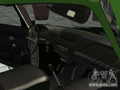 IZH Combi 21251 para GTA San Andreas vista hacia atrás