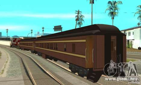 Canadian Pacific para GTA San Andreas left