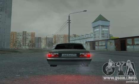 GAZ 3110 para visión interna GTA San Andreas