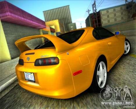 ENBSeries by ibilnaz para GTA San Andreas segunda pantalla