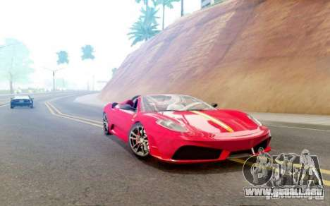 Sompelling ENBSeries para GTA San Andreas segunda pantalla