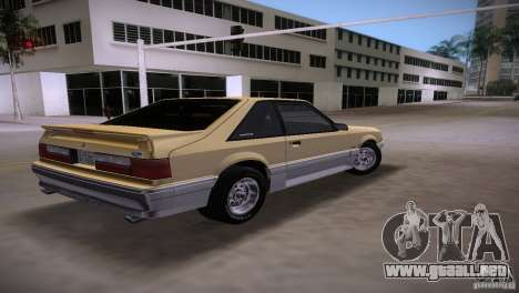 Ford Mustang GT 1993 para GTA Vice City left