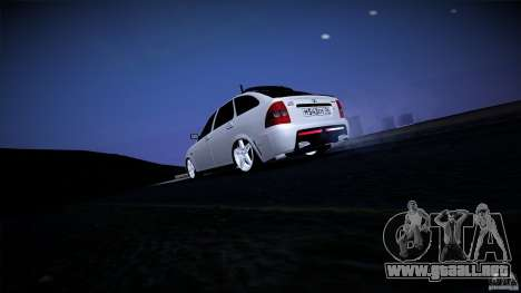 Club Mansory VAZ-2172 para GTA San Andreas vista hacia atrás