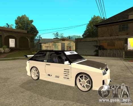 VAZ 2108 extrema para la visión correcta GTA San Andreas
