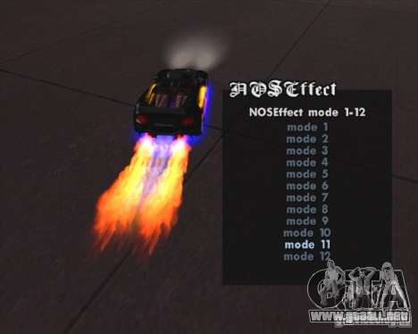 Pimp my Car Final para GTA San Andreas tercera pantalla