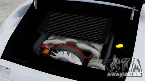 Porsche 993 GT2 1996 para GTA 4 vista interior
