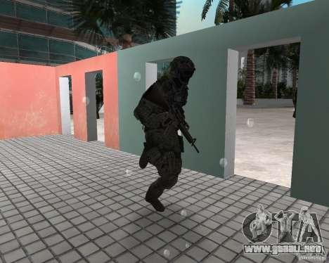 Escarcha de CoD MW3 para GTA Vice City segunda pantalla