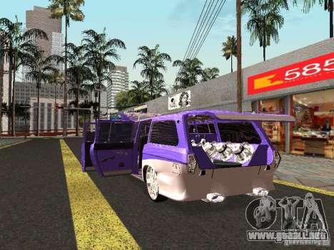 Lowrider GAZ 24-12 para la visión correcta GTA San Andreas