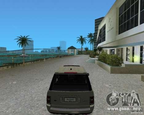 Rang Rover 2010 para GTA Vice City vista lateral izquierdo