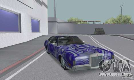 Lincoln Continental Mark IV 1972 para GTA San Andreas interior
