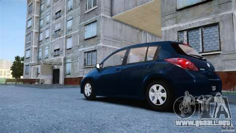 Nissan Versa para GTA 4 left