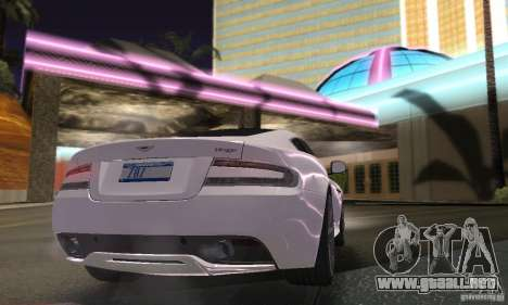 ENBSeries by dyu6 para GTA San Andreas sucesivamente de pantalla