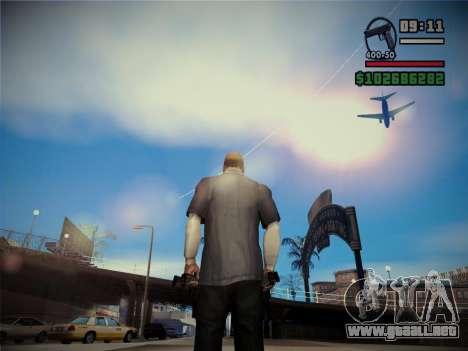 Calidad fulgor del sol para GTA San Andreas segunda pantalla