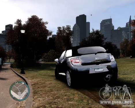 Citroen DS3 2011 para GTA 4 left