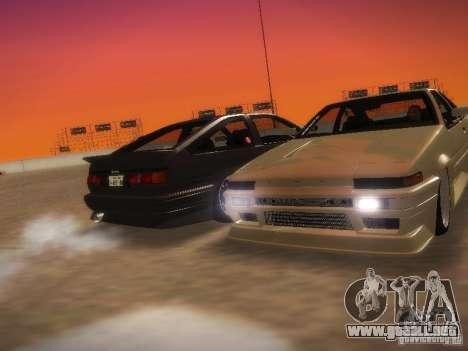 Toyota Sprinter Trueno AE86 para la visión correcta GTA San Andreas