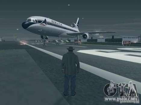 L1011 Tristar Delta Airlines para GTA San Andreas left