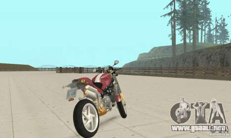 Ducati Monster S4R para GTA San Andreas left