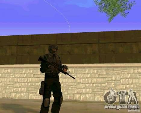La piel de las fuerzas especiales ucranianas para GTA San Andreas tercera pantalla