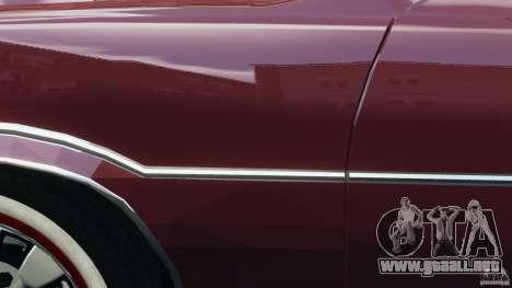 Oldsmobile Vista Cruiser 1972 v1.0 para GTA 4 ruedas