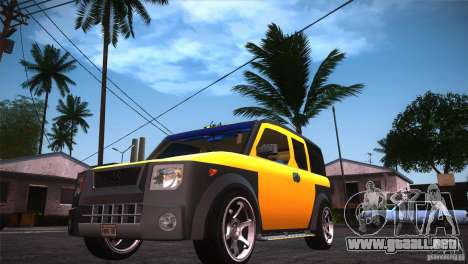 Honda Element LX para GTA San Andreas