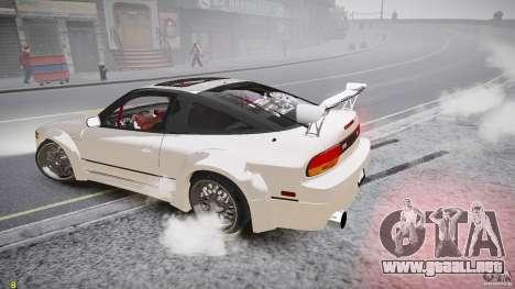 Nissan Sileighty para GTA 4 vista superior