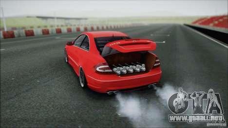 Mercedes CLK 55 AMG para la visión correcta GTA San Andreas
