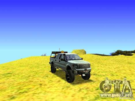 Ford F-150 Off Road para visión interna GTA San Andreas