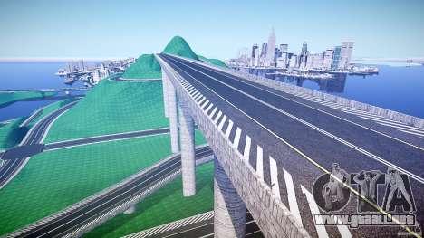 Drift Paradise V2 para GTA 4 adelante de pantalla