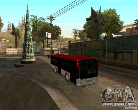 Mercedes-Benz Citaro K E5 para GTA San Andreas left